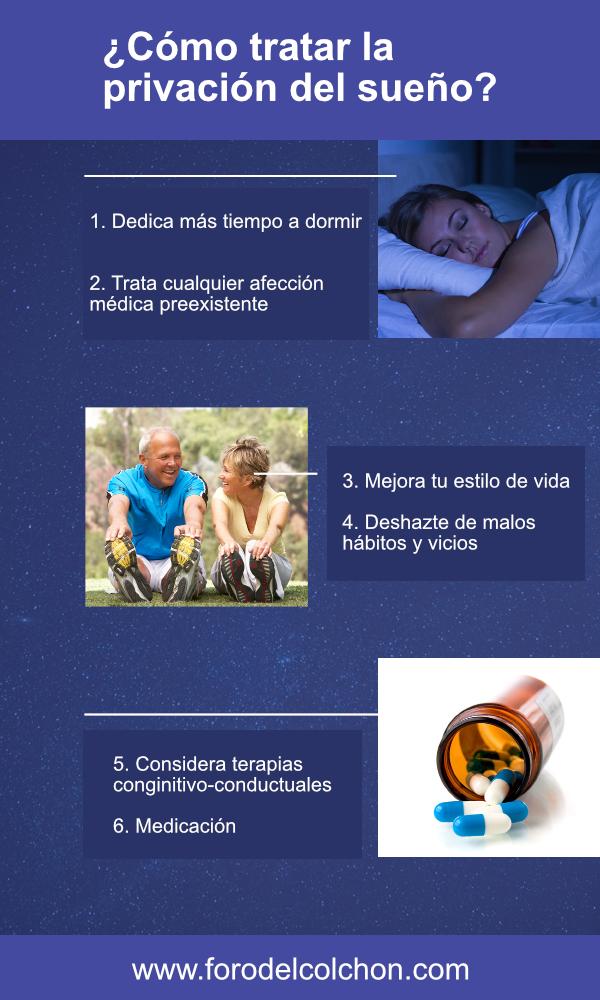 Cómo tratar la privación del sueño