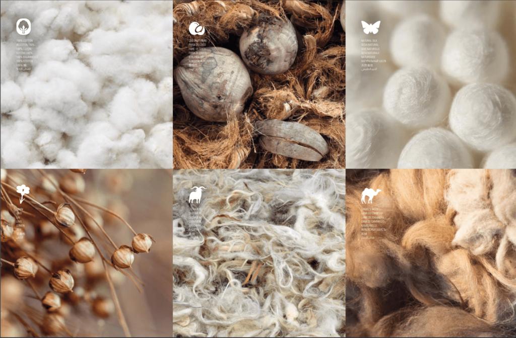 Uso de materiales naturales en colchones Auriga