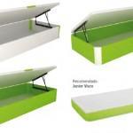 colchón verde