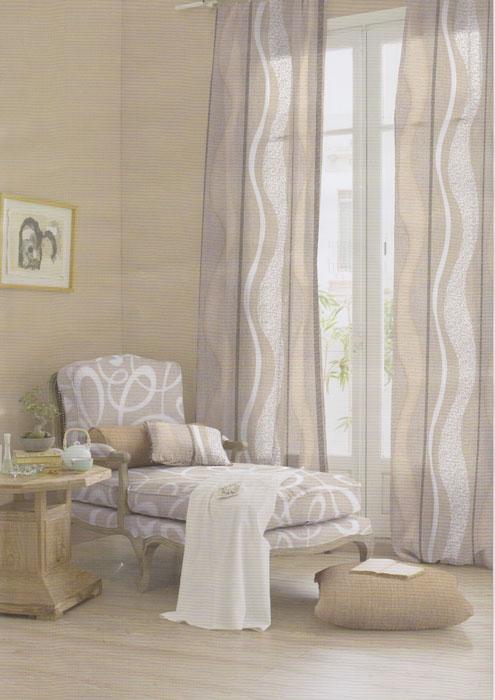 Ambientes con luz - Tipos de cortinas para salon ...