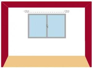 como medir cortinas enrollables